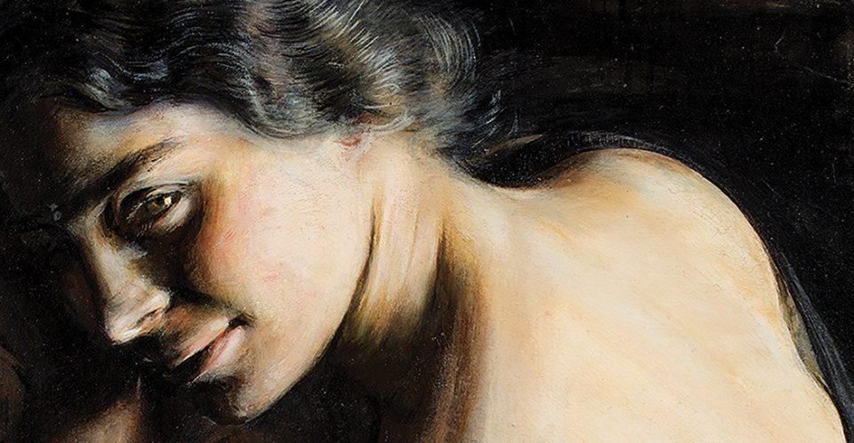 Giacomo Balla, Il dubbio - particolare
